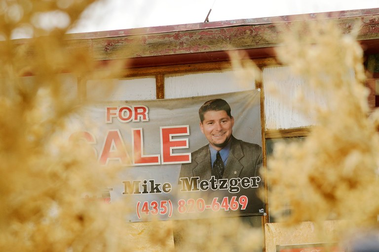 Utah realtor Mike Metzger has had to get creative in order to sell the unusual property: a once-popular roadside attraction turned ghost town. Woodside has a multimillion dollar price tag.