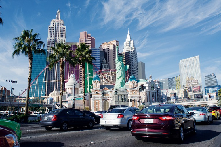Thirty-nine million people visit Las Vegas each year, drawn by its grand facsimiles of life elsewhere, and by the constant promise that anything can happen.