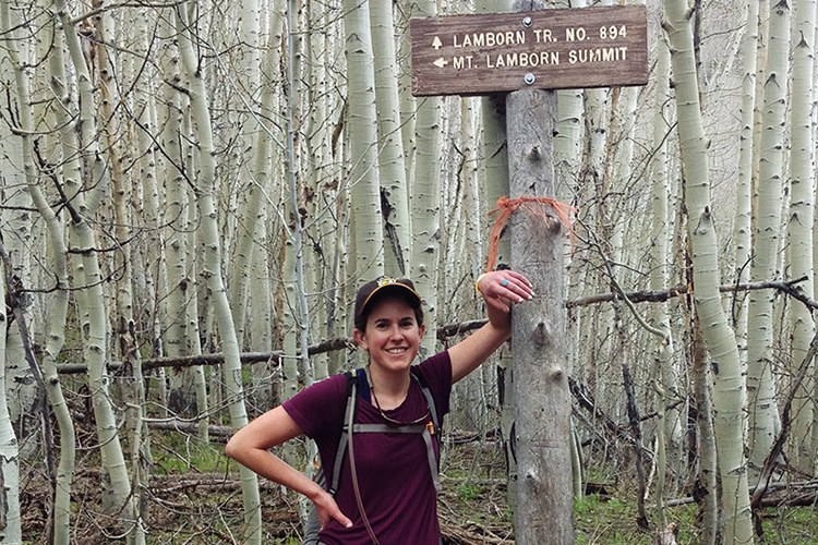 Before her move to North Dakota, HCN correspondent Emily Guerin made time to hike Mount Lamborn, which overlooks our office in Paonia, Colorado.