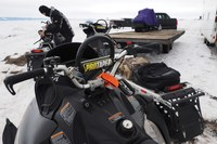Snowmobiling for science in Idaho