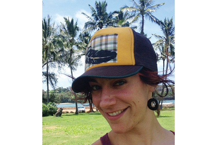 After five years in the HCN office, associate editor Sarah Gilman deserved a Hawaiian beach vacation before her move to Portland, Oregon, where she'll continue to write for the magazine.