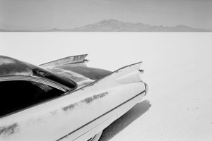 Photos of Bonneville Salt Flats