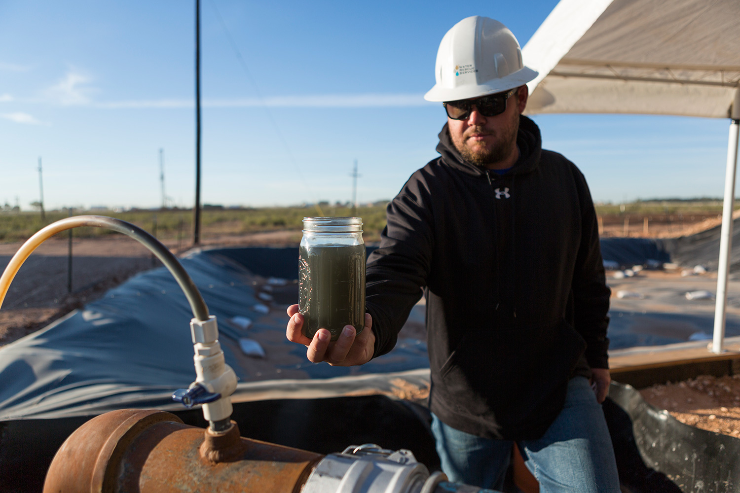 Fracking without fresh water (Water miser in the oilfields