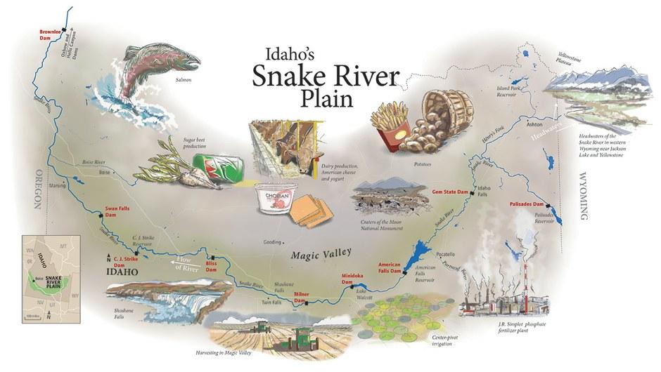 Snake River map — High Country News on maine's map, california's map, idaho welfare map, oklahoma's map, idaho bureau of land management map, washington's map, saw hills of idaho map, idaho hunters map, idaho campgrounds map, oregon map, idaho farmland map, idaho county map, north idaho map,