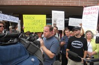 Jared Polis abandons anti-fracking initiatives