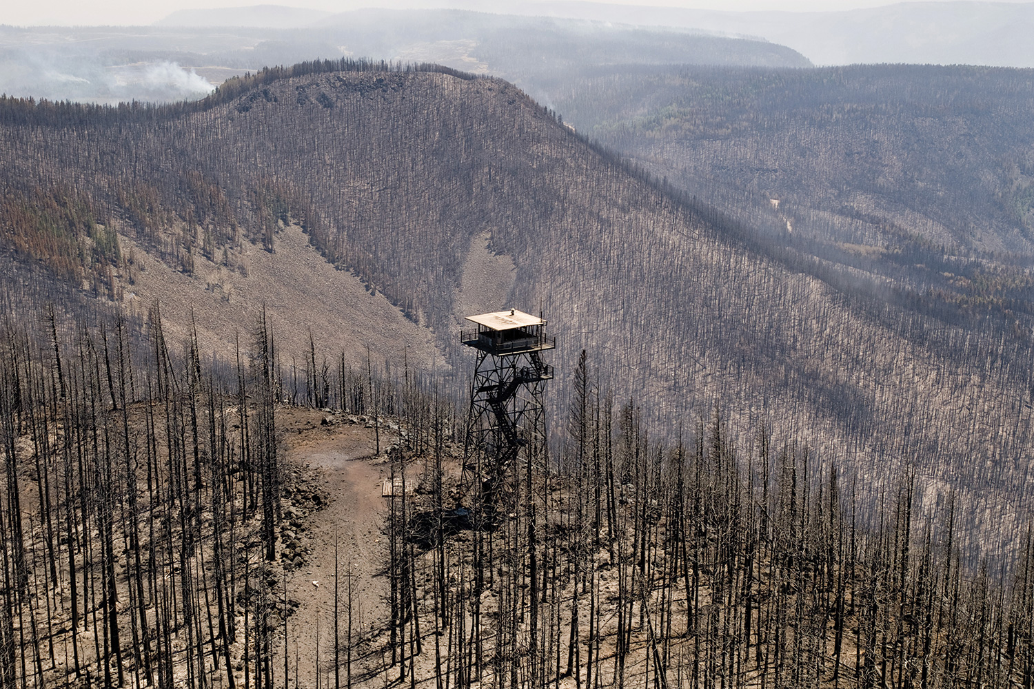 Lost In The Woods High Country News - Us forest service east tn wiildfires map