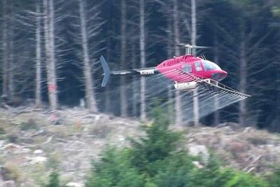 Timberland herbicide spraying sickens a community