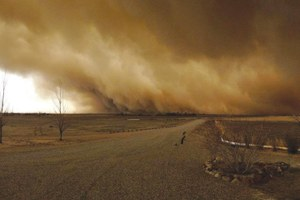 Drought brings new dust storms to the geographic heart of the Dust Bowl