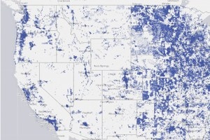 Rural Americans have inferior Internet access