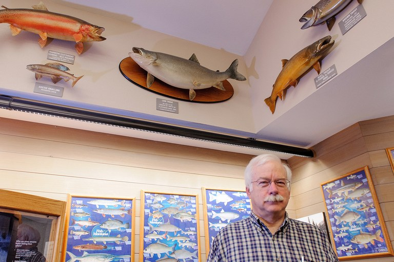 Jim Vashro, a former biologist with Montana Fish, Wildlife and Parks.