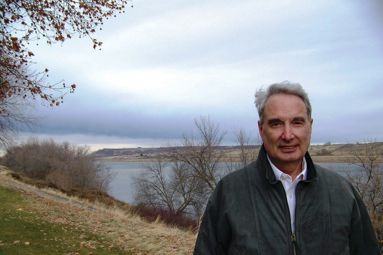 DOE chemist Donald Alexander, shown here on the banks of the Columbia River in Richland, warned of a possible nuclear explosion at the Hanford waste-treatment plant.