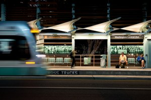 Light rail enters the West's most sprawling metropolis