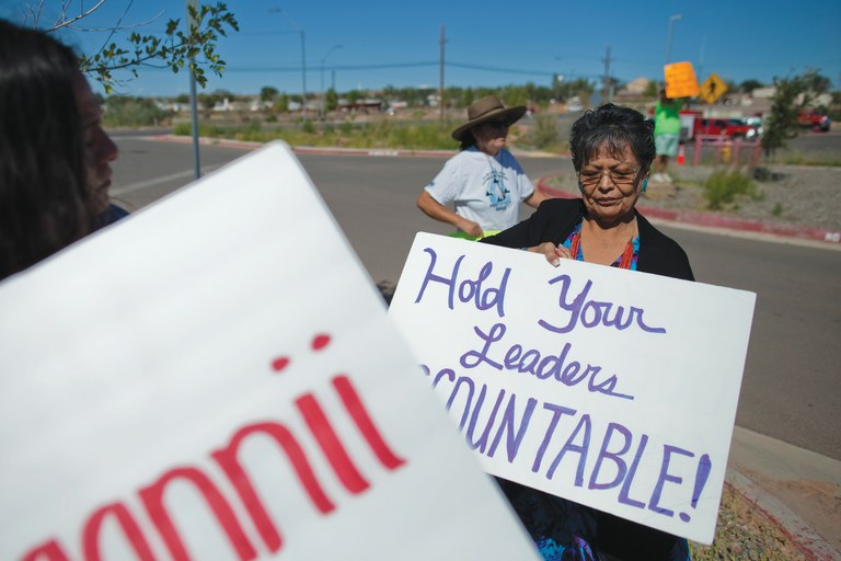 A question of fluency on the Navajo Nation