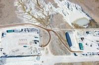 Aerial photos of drilling at Pawnee grassland