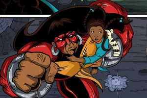 The first comic book with an all-Native American superhero team returns
