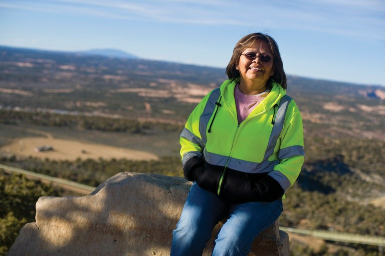 Coal miner Marie Justice has worked to protect the coal industry – and jobs – on the Navajo Nation.