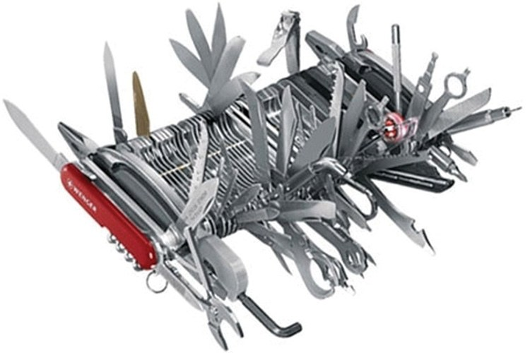 Giant Swiss Army Knife by Wenger Co.