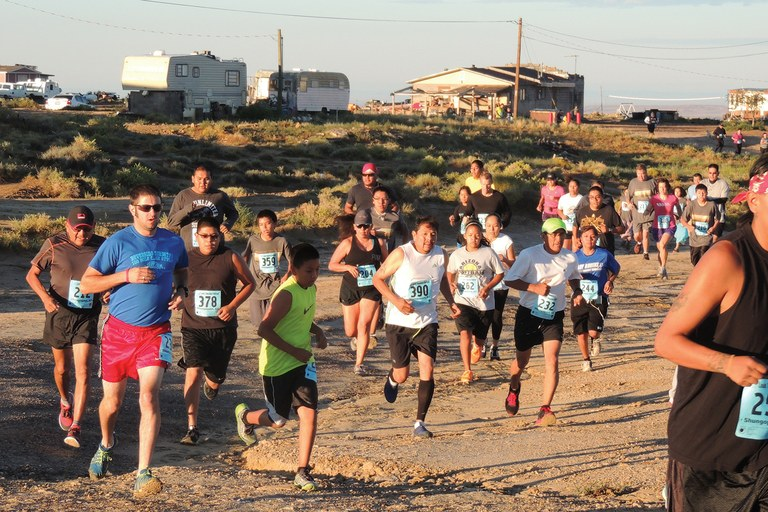 Native American tribes of the Southwest like the Hopi have long valued running and racing. Now, Native-organized footraces from 5Ks to marathons carry on the tradition around the region. The Louis Tewanima footrace, above, has been held every Labor Day weekend for 40 years.