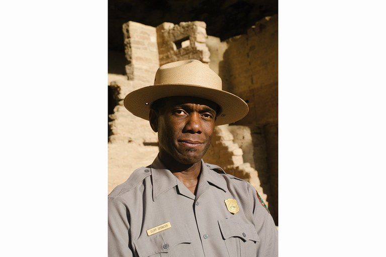 Cliff Spencer, superintendent of Colorado's Mesa Verde National Park, is one of only a few high-ranking African-Americans in the Park Service.