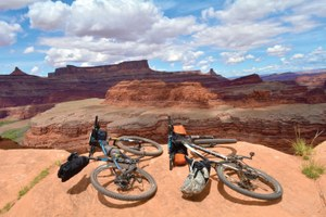 Biking the line between wilderness and civilization