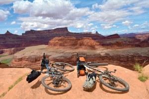 Biking the line between wilderness and civilization