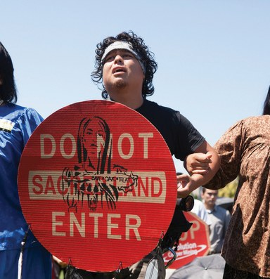 The Latest: San Carlos Apache lobbies to protect lands threatened by copper mining