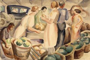 A look back at a Western artist guild's colorful history