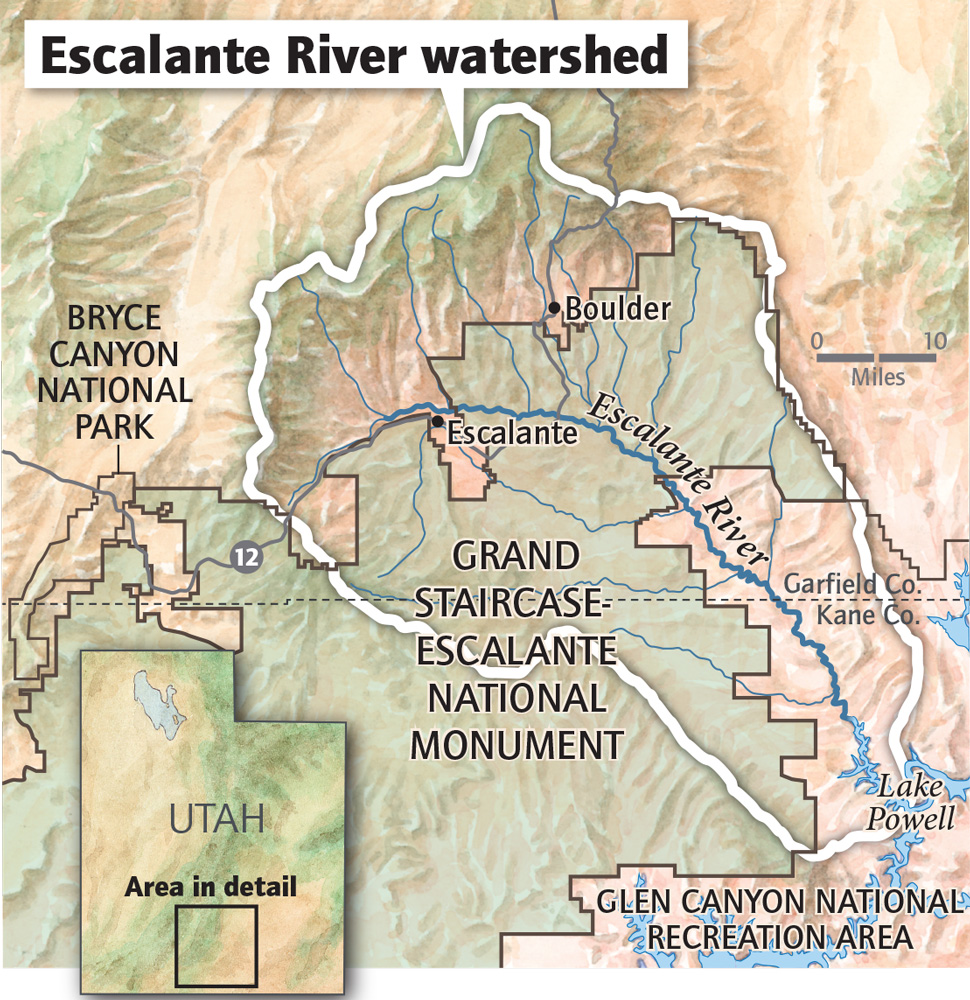 A Recent History Of Land Management In The Escalante Region A
