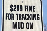 $300 fine for tracking mud on streets, dress codes for sheriffs, and more.