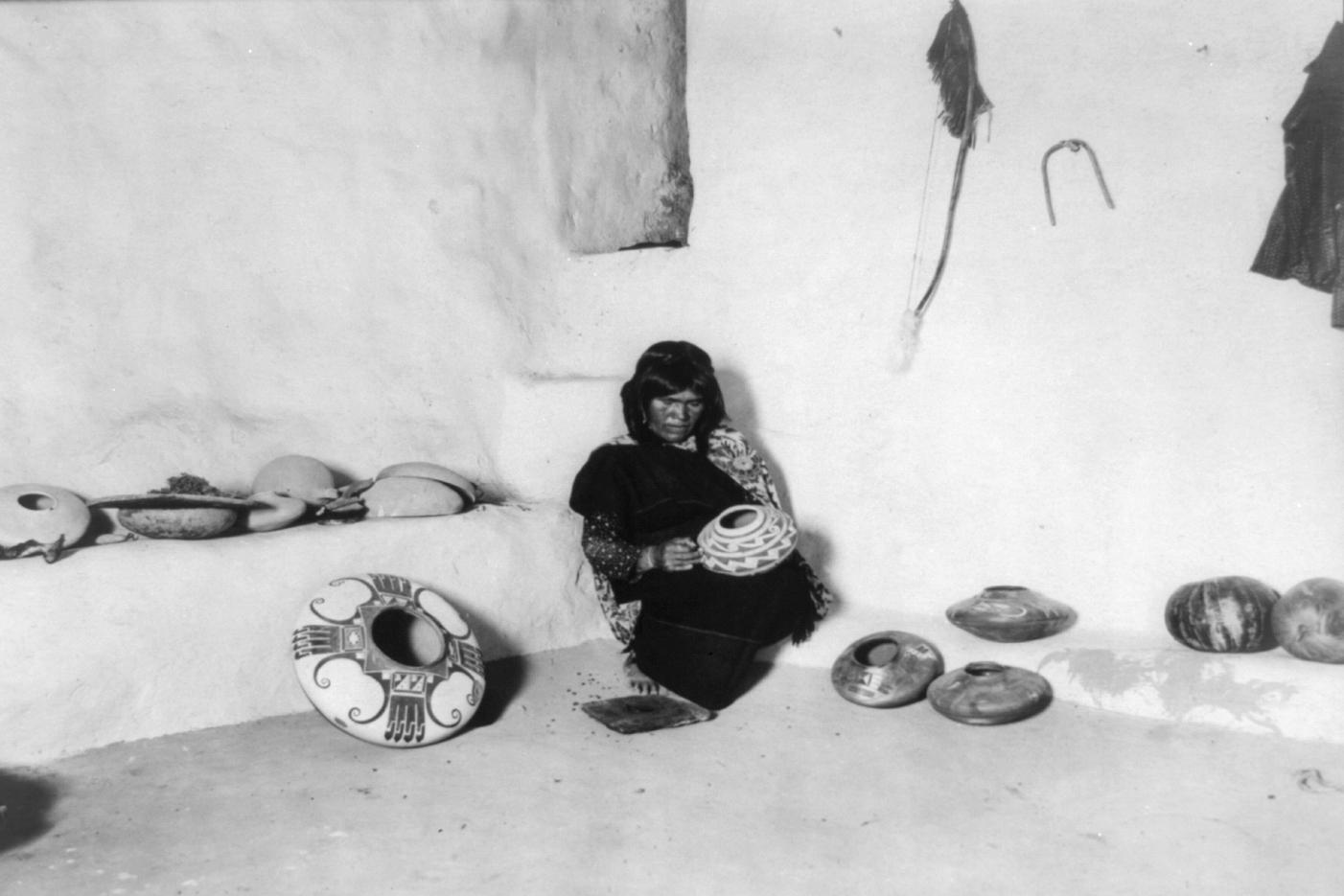 native american pottery essays