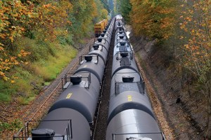 Latest: A Washington county puts the brakes on a new oil-train facility