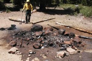 In this season of potential megaburns, nix the campfire