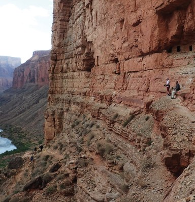 A visit to the Grand Canyon, without handrails