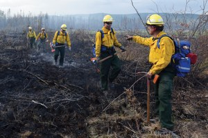 Alaska's emergency wildfire crews are burning out