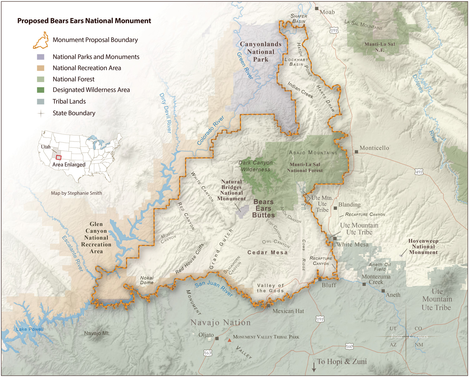 Bears Ears Monument Map >> Close