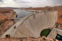 The fading grandeur of the Glen Canyon Dam