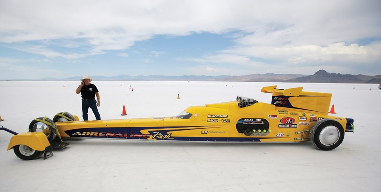 Land Speed Record >> Could land speed racing fade from Bonneville Salt Flats? (The disappearing Bonneville Salt Flats ...