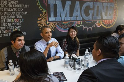 How Obama began to mend broken tribal relations