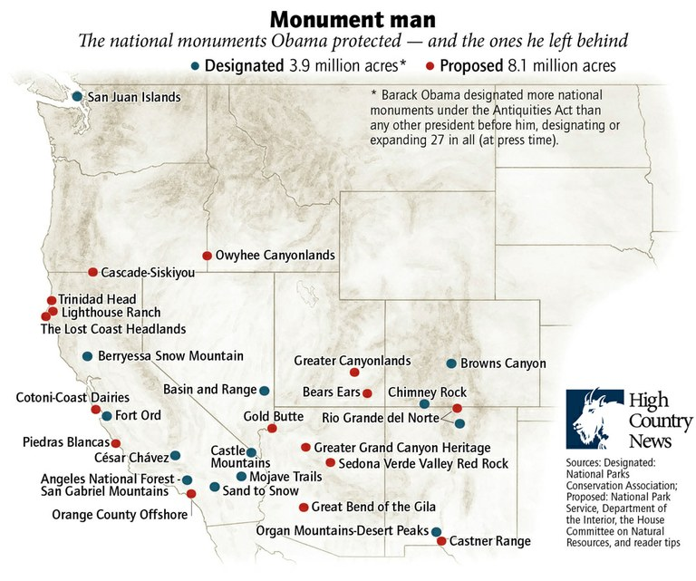 Where will the West\'s next national monument be? — High Country News