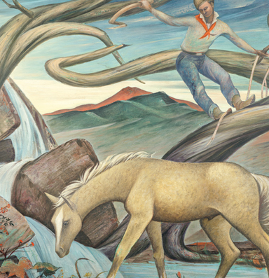 Meet one of the great forgotten Western painters