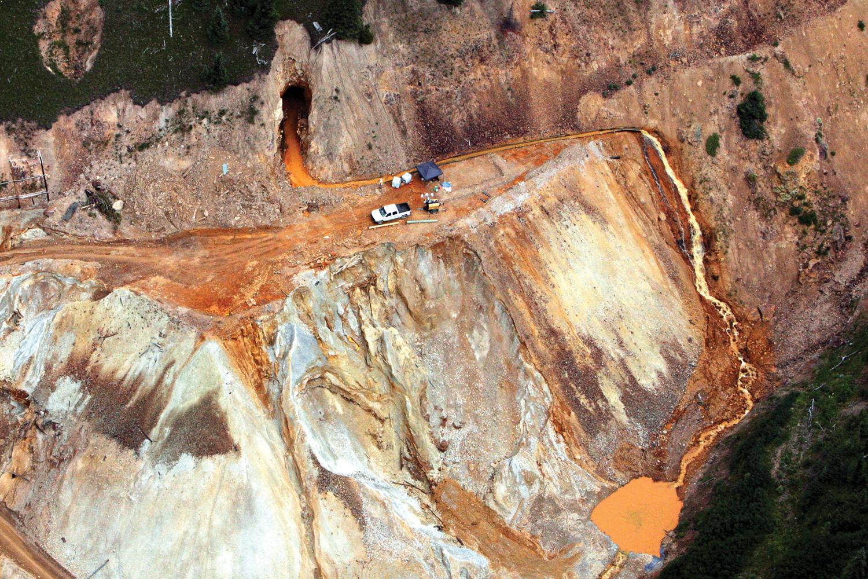 Silvertons Gold King Reckoning The Gold King Reckoning High - Gold vein map us geological virginia