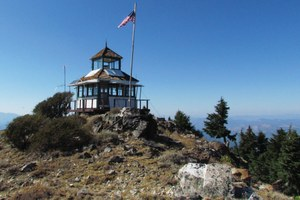 The life of a fire lookout is one of the senses