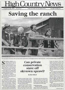 Saving the ranch