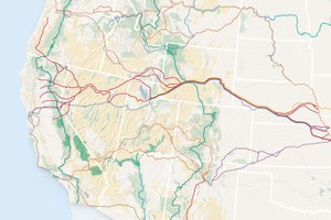 A network of trails that spans the country
