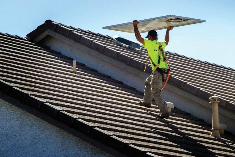 In solar scuffle, big utilities meet their match