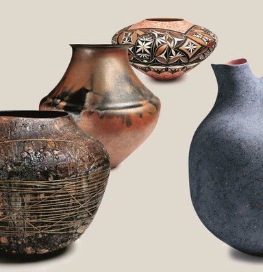 Vignettes of vessels crafted in the Southwest