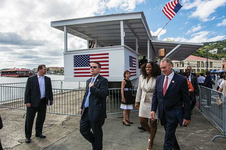 He Visited The Islands In March On A Taxpayer Funded Trip Related To The Interior  Departmentu0027s ...