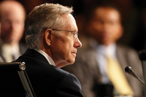 Harry Reid exits the ring