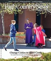 Change Comes to Short Creek