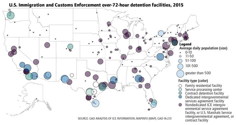 How Private Prisons Became A Booming Business Key Dates And
